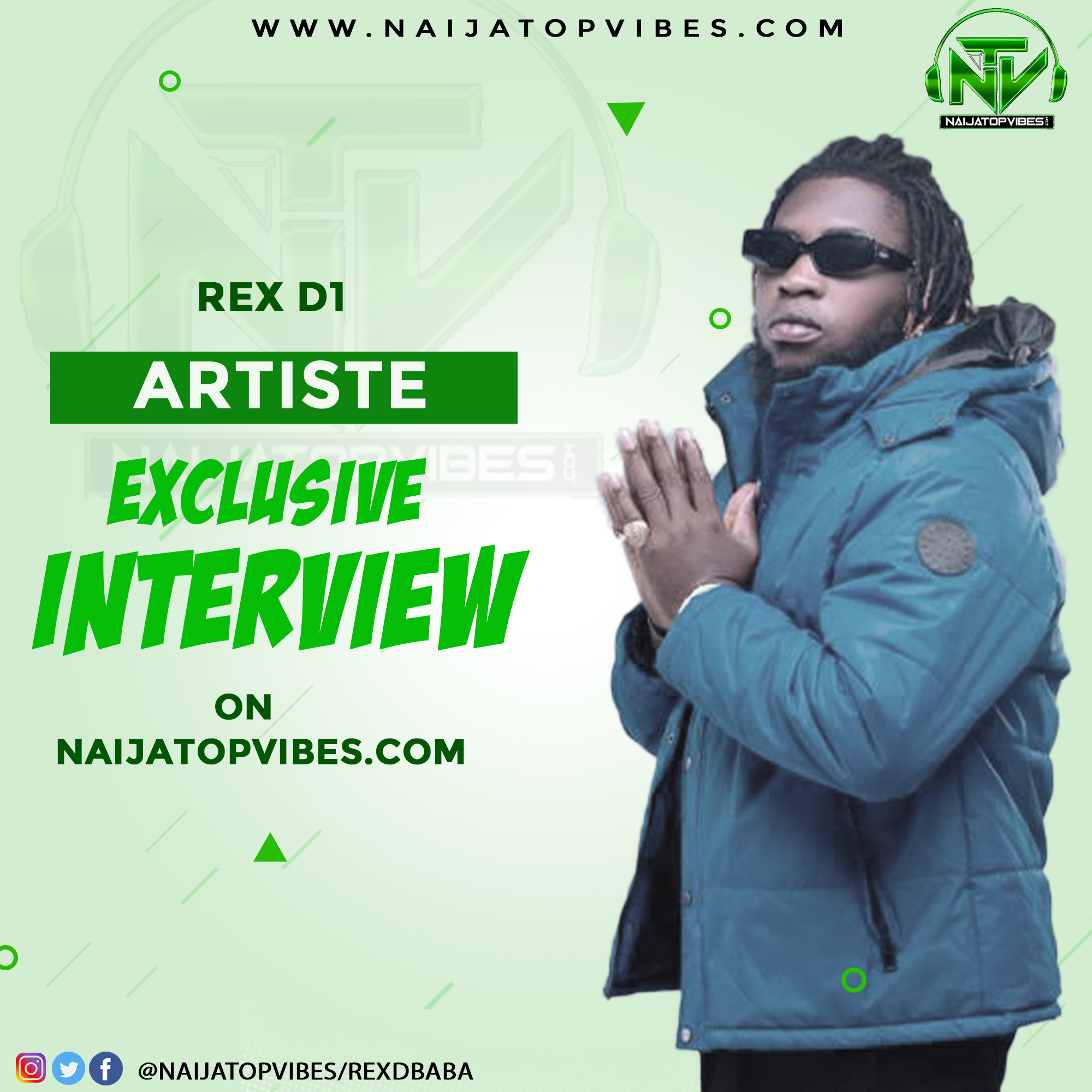 TOPVIBES: Exclusive Interview With Multiple Talented Act – Rex D1